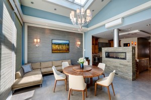 In-Site Interior Design 01 Brooklyn Residence - Family Room - NYC Interior Designer - Contemporary Residential Design