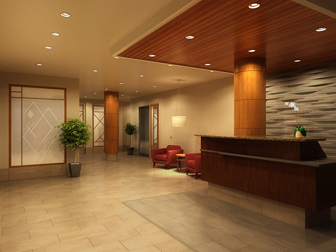 Nyc interior designers the argyle park slope in site for Commercial interior design nyc